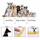 led hondenhalsband maat