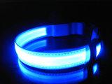 LED halsband hond kleur blauw