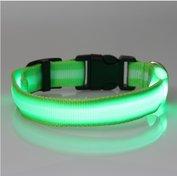 led hondenhalsband type 2 groen large