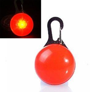 LED HONDEN HALSBAND LAMPJE - ROOD